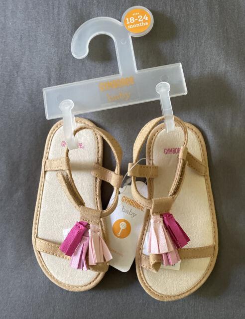 Baby Girl 18-24 Month Gymboree Pink Tassel Summer Sandal