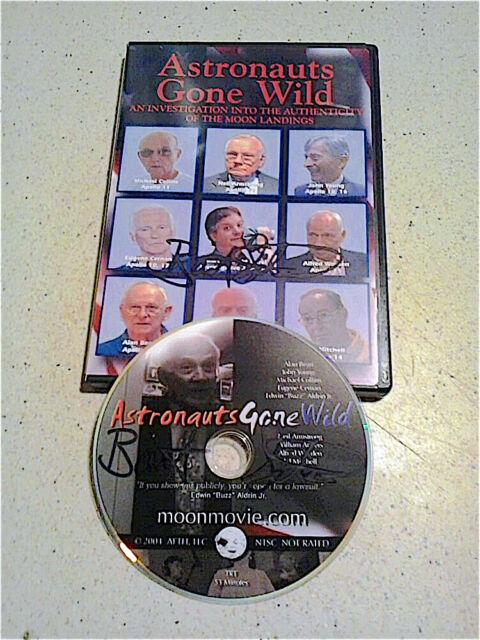 Astronauts Gone Wild - RARE AUTOGRAPHED DVD