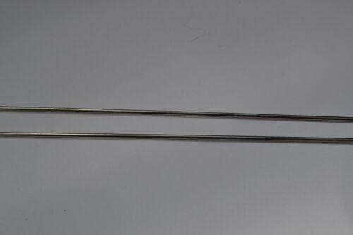 2 x 1.5mm Titanium 330mm long TIG Welding Rod //rods Grade 2 ERTi-2 gas welding
