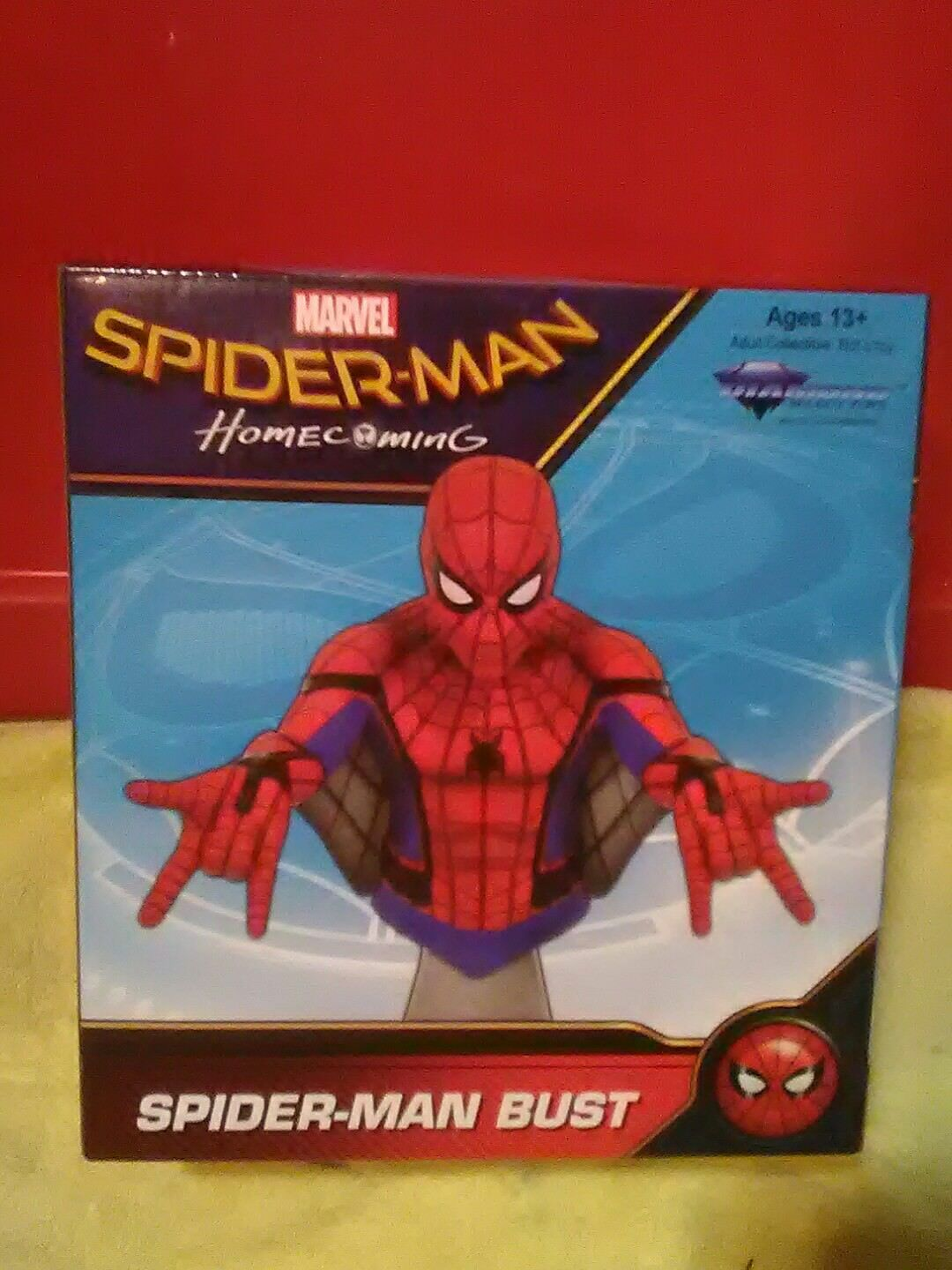 Marvel Spider-Man Homecoming Web Glider Spider-Man Bust  253 out of 3000