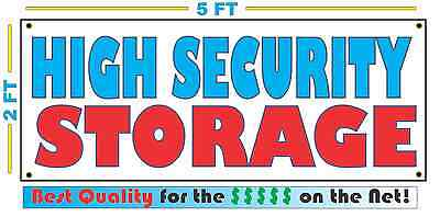 Full Color VEHICLE STORAGE Banner Sign All Weather NEW XXL Larger Size