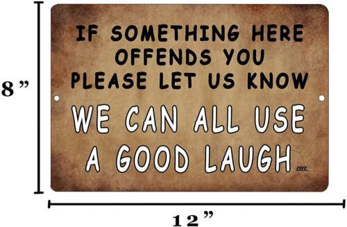 Rogue River Tactical Funny Sarcastic Metal Tin Sign Wall Decor Man Cave Bar A Go