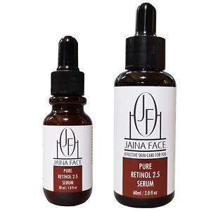 Pure-Retinol-2-5-Vitamin-A-Face-Anti-Aging-Wrinkle-Acne-Facial-Serum-Cream
