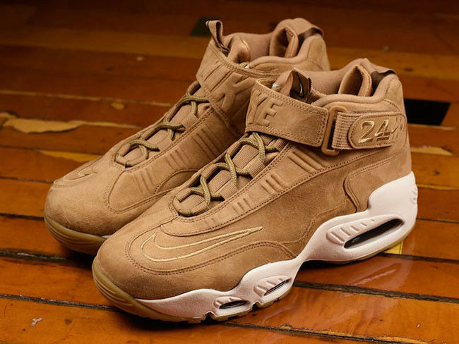 Mens Nike Air Griffey Max 1 Sneakers New, Flax / Wheat 354912-200 sku AA