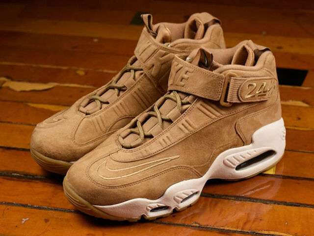 Mens Nike Air Griffey Max 1 Sneakers New, Flax Wheat 354912 200