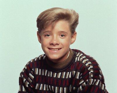 Danny Pintauro  8×10 photo vintage Who's the Boss by a pond