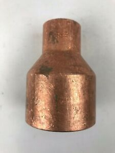 """Details about 1 Piece - ELKHART - 2"""" inch  X 1"""" inch  - C x C - Copper  Coupling Fitting"""