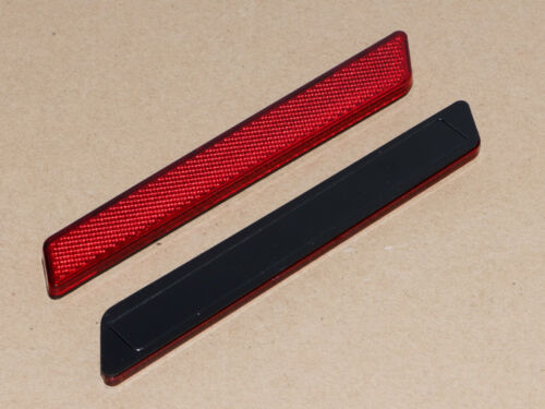 US Red Saddlebag Latch Cover Reflector for Harley Touring Road Glide King 14UP