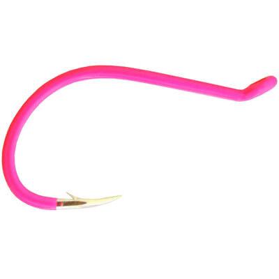 Package of 7 Size 4 Fluorescent Pink Gamakatsu Octopus Fishing Hooks