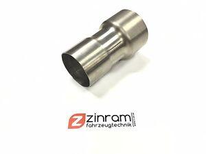 Acciaio-inox-Adattatore-Scarico-76-1mm-auf-70mm-3-034-2-75-034-ampliato-Manicotto
