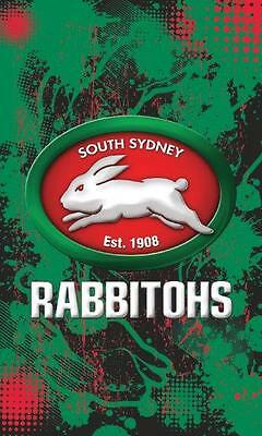 SOUTH SYDNEY RABBITOHS Licensed NRL Cape Wall Flag Banner Man Cave Game Day