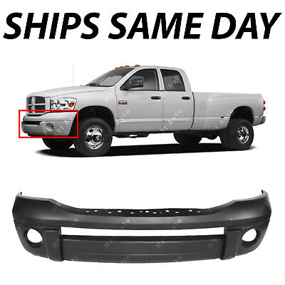 Front Bumper Cover Compatible with 2006-2008 Dodge Ram 1500//Ram 2500 2006-2009 Upper Fascia Primed
