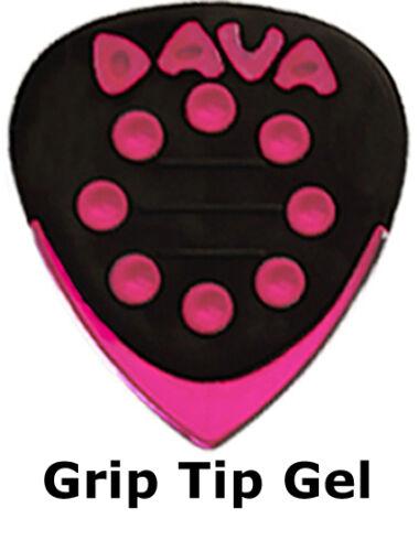 Jazz Grip Guitar Picks In Hang Bag Dava Grip Tip Pack Of Six 6 Plectrums