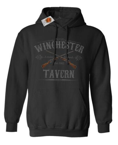 Winchester tavern shaun of the Dead Zombie ispirato da Uomo Donna Unisex Felpa con cappuccio 56