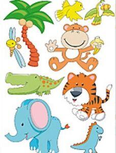 Capable Amusante Chambre Enfant Stickers Muraux Mur-trattoos Peintures Murales Dans Le Design Indonésie-afficher Le Titre D'origine