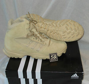 b9c6a4a1369 Details about New Adidas Sport GSG9 Desert Low Combat Boots Military SWAT  Shoes GSG 9.3 Brown