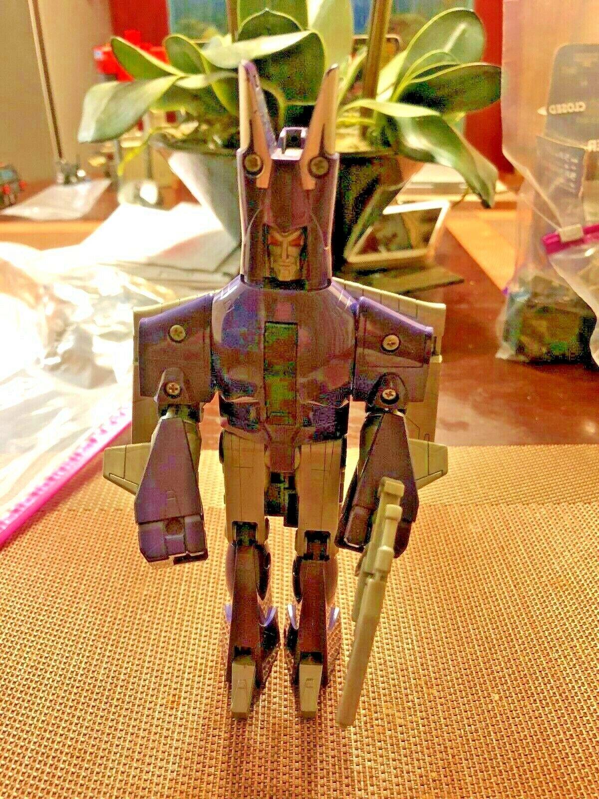 Transformers Original G1 1985 Decepticon Jet Cyclonus Completa    LQQK