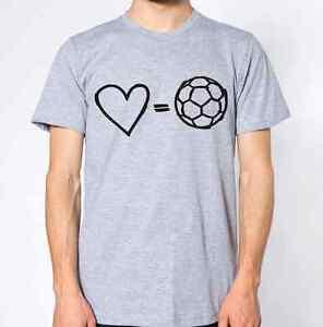 I-Love-Football-T-Shirt-Soccer-Sport-Top