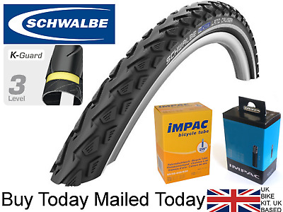 Schwalbe Road Cruiser 700 x 47 Hybrid//Gravel Bicycle tire w//Tube SCH 1