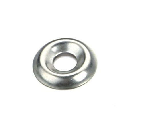 Qty 20 6g No.6 Cup Washer Imperial Stainless Steel SS 304 A2 Finishing