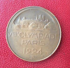 France-Superbe-Medaille-Olympiades-Paris-1924-Olympics-Medal-1924-Paris