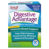 Digestive Advantage Probiotic Intensive Bowel Support Capsule 96 Count 36/carton on sale