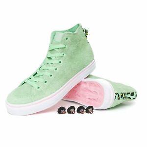 Details about Adidas x Na Kel Nizza Hi RFS Shoes Spring GreenWhiteLight Pink