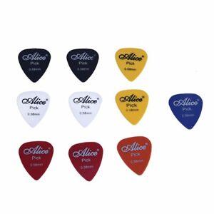 2X-Alice-10x-Plettro-Accessori-per-Chitarra-chitarra-pick-0-58-mm-I5J9