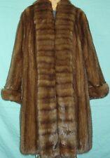 Valentino Bargazin Russian Sable Silver Tip Fur Jacket Coat Size 14-16 Mint Cond