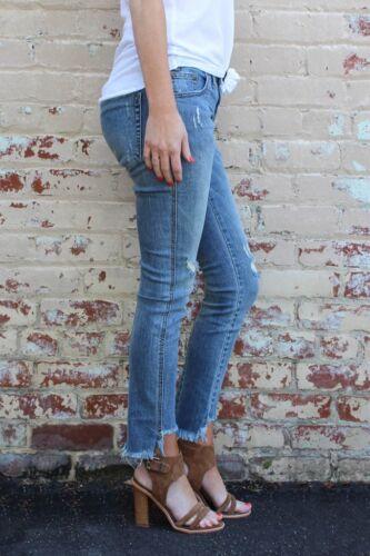 En Kk Freebirds Ii à Une Labyrinth thé Jeans L28 Dh084 cuillère W25 Taille 27 Bleu 7x7wX