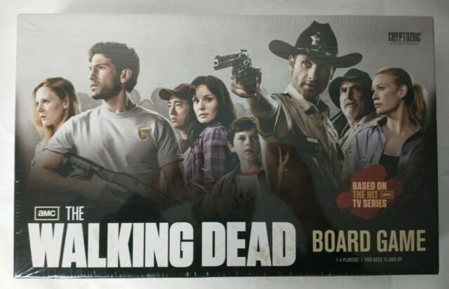 The Walking Dead Board Game AMC Cryptozoic  Zombie Apocalypse Survival Kit New