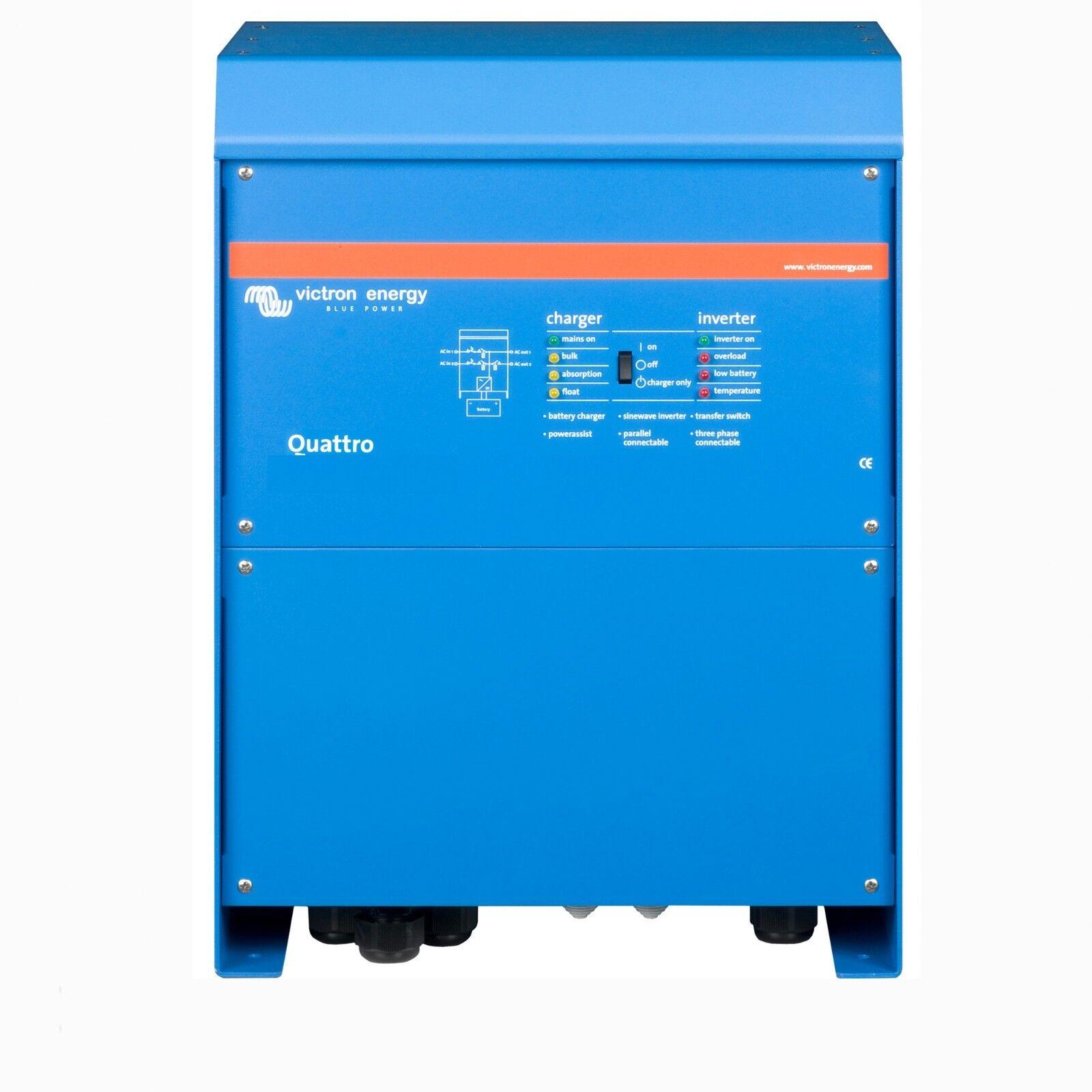 VICTRON Quattro 24/3000/70-50/30 Ladegerät Ladegerät 24/3000/70-50/30 Wecheselrichter Charger Inverter 8d01f9