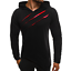 Mens-Long-Sleeve-Ripped-Casual-Tops-Slim-Fit-Hooded-Muscle-T-shirt-Hoddies-New