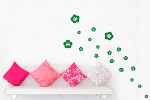 Details about  /Flowers Wall Stickers Vinyl Art Decals