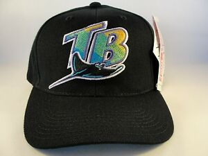 63748de22be MLB Tampa Bay Devil Rays Vintage Snapback Hat Cap American Needle