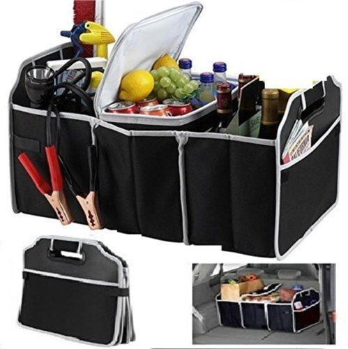 Car Boot Organiser Storage Box Collapsible when not in use