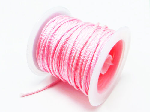0,30 €//m 5 m flechtkordel Ø 1,5 mm satén cordel banda cuerda perlas cuerda sk-6