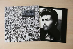 GEORGE-MICHAEL-Listen-Without-Prejudice-UK-1st-press-vinyl-LP-with-inner-Nr-Mint
