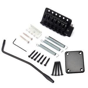 Electric-Guitar-Tremolo-Pont-Systeme-avec-cou-plaques-pour-stratocaster-strat-ST
