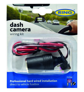 Ring-RBGDCHK-Car-Dash-Cam-Dashboard-Camera-Electrical-Hard-Wiring-Kit-12-24V-5A