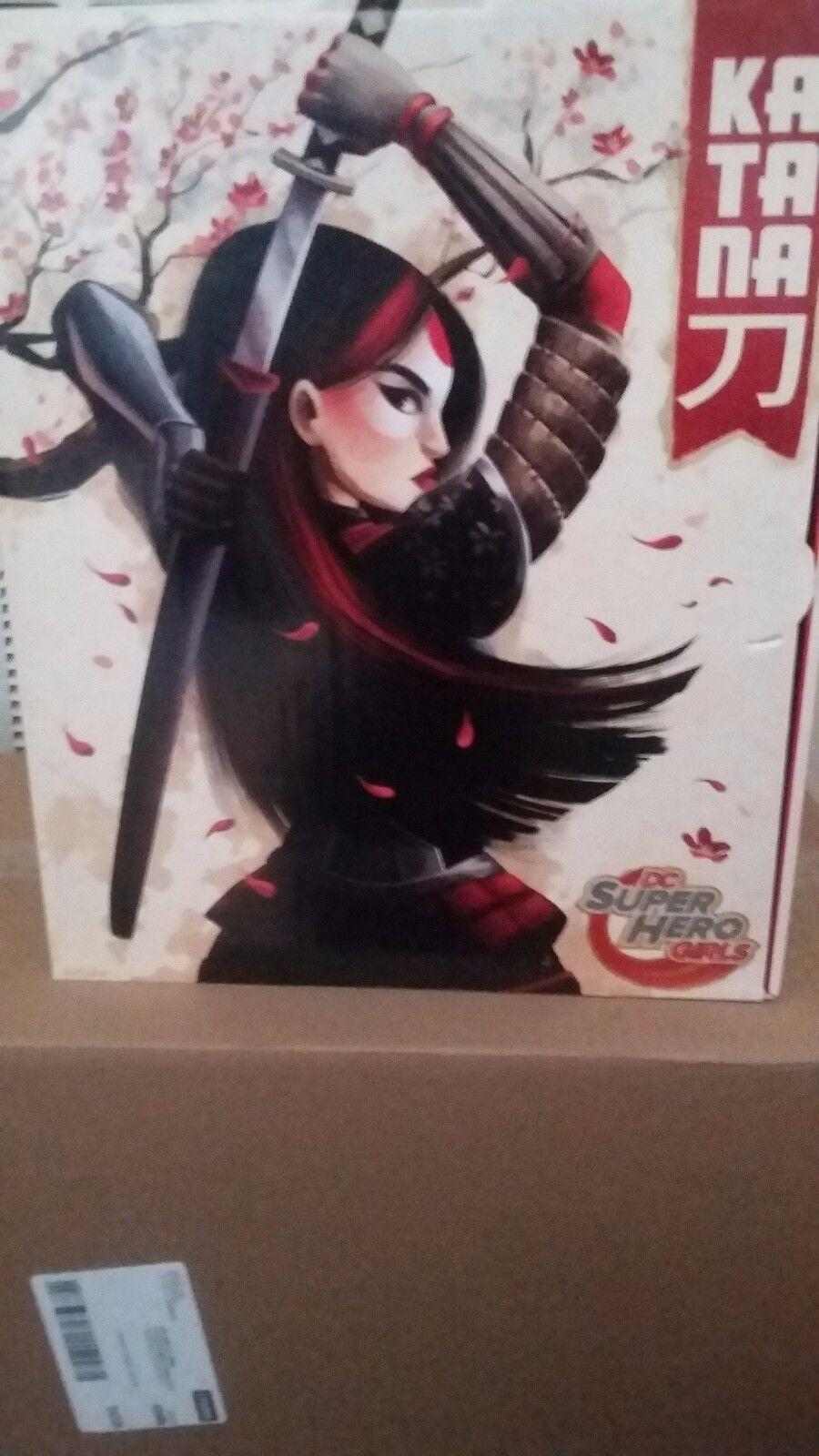 DC Super Hero Girls Katana EX  12   cifra nuovo  Ship US  salutare
