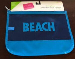 Image Is Loading Miamica Blue Beach Bathing Suit Swimsuit Travel Suntan