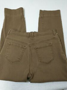 Style & Co Jeans Femmes Taille 10 Natural Fit Jambe Fuseau Marron 30X28