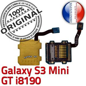 ORIGINAL-Samsung-Galaxy-S3-GT-i8190-Connecteur-Carte-SD-Lecteur-Memoire-MicroSD