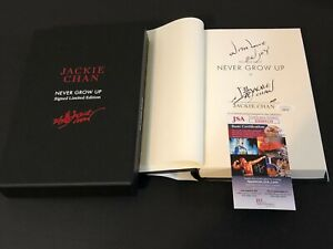 Jackie-Chan-Rush-Hour-Never-Grow-Up-Signed-Autograph-Limited-Edition-Book-JSA