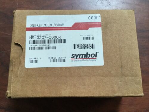 New Motorola MS-3207-I000R Symbol MiniScan MS3207 1D Laser Fixed Barcode Scanner