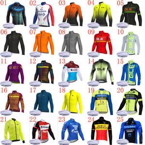 Men-Winter-Cycling-jersey-Bicycle-Shirt-long-sleeves-thermal-fleece-bike-Outfits