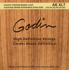 Godin Seagull Saiten für/strings for Western-Gitarre A6 XLT