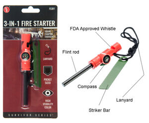 3-IN-1-Flint-Fire-Starter-Emergency-Fire-Starter-Compass-amp-Whistle-Survival
