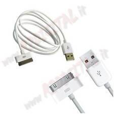 CAVO DATI USB 2.0 compatibile per APPLE IPHONE IPOD 4 4G 4S 3G 3GS MA591 CARICA